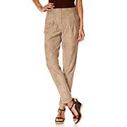B-C-Best-Connections-Pantalon-a-pinces-femme-aspect-peau-velours-fluide