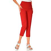 Ashley-Brooke-Pantacourt-classique-a-poches-pour-femme-taille-haute
