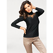 Ashley-Brooke-Pull-over-en-tricot-fin-et-col-roule-a-strass