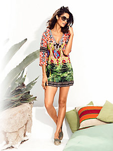 Lunettes de soleil femme, imprimé léopard tendance