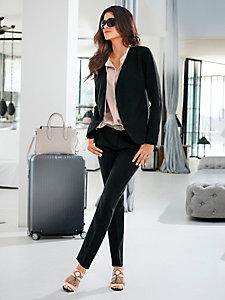 Veste blazer ajouré femme, style classique et élégant
