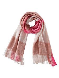 Grande écharpe douce à imprimés à carreaux pour femme