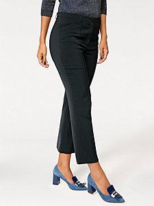 Pantacourt à plis femme, style tailleur élégant