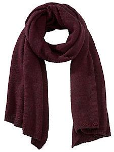 Echarpe chaude en laine et maille tricôtée pour femme