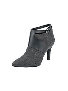 Low boots femme à brides en cuir originales