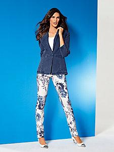 Blazer Bodyform en jean