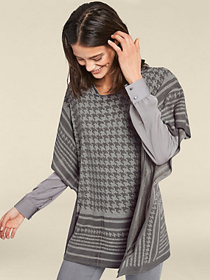 Pull-over poncho