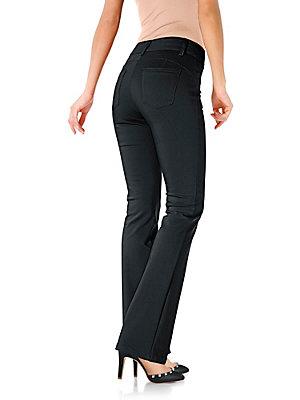 Pantalon femme amincissant, coupe bootcut tendance