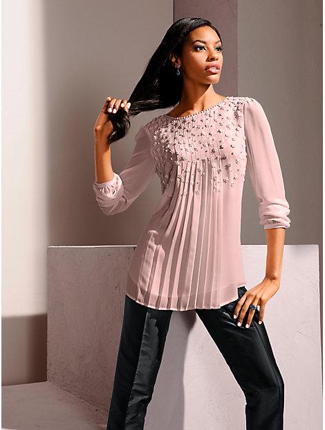 Pantacourt femme en soie, matière luxueuse