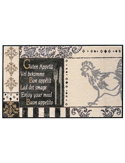 Tapis de cuisine en nylon imprim original helline - Helline tapis de cuisine ...