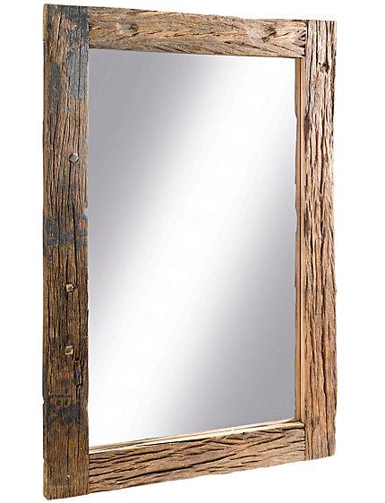Miroir d co cadre en bois artisanal unique helline for Miroir online shop