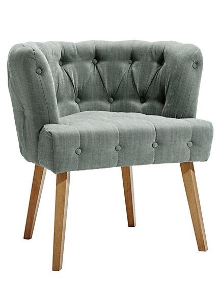 chaise avec assise haute capitonnage par bouton helline. Black Bedroom Furniture Sets. Home Design Ideas