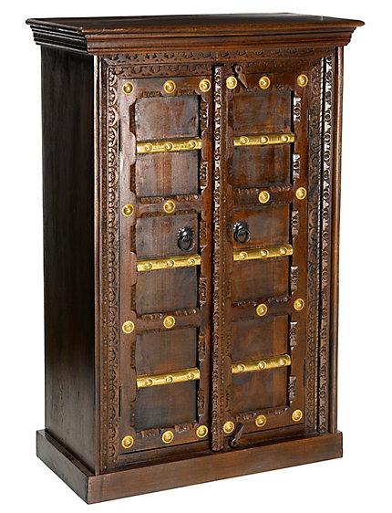 commode luxueuse en bois sculptures et d tails m tal. Black Bedroom Furniture Sets. Home Design Ideas