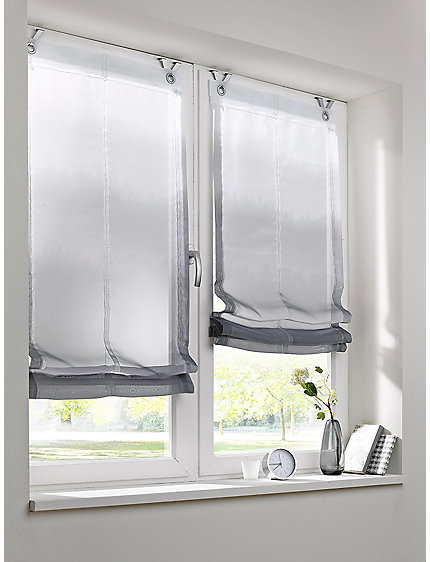 rideau store draper en tissu fluide de style l gant helline. Black Bedroom Furniture Sets. Home Design Ideas