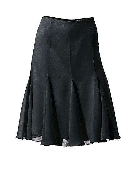 jupe pliss e mi longue forme fluide helline. Black Bedroom Furniture Sets. Home Design Ideas
