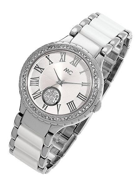 montre grand cadran femme bracelet fin