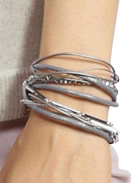 ?bracelet � enrouler femme alba moda red trend