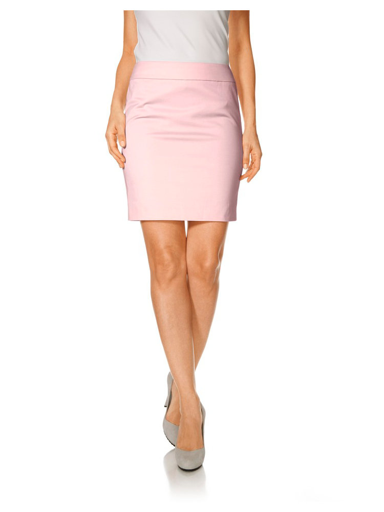 jupe rose coloris brillant coupe courte taille haute helline. Black Bedroom Furniture Sets. Home Design Ideas
