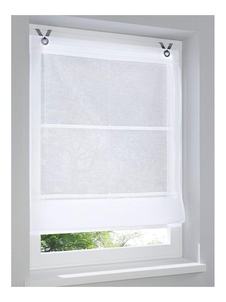 store opaque suspendre en tissu uni helline. Black Bedroom Furniture Sets. Home Design Ideas