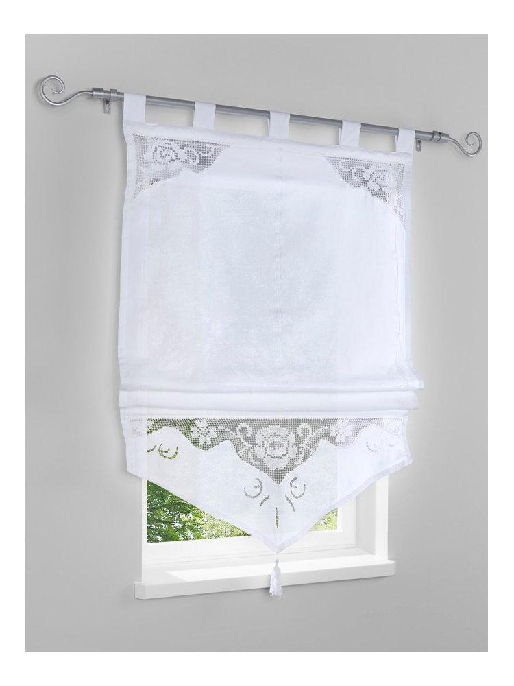 store bateau en tissu blanc empi cement en crochet helline. Black Bedroom Furniture Sets. Home Design Ideas
