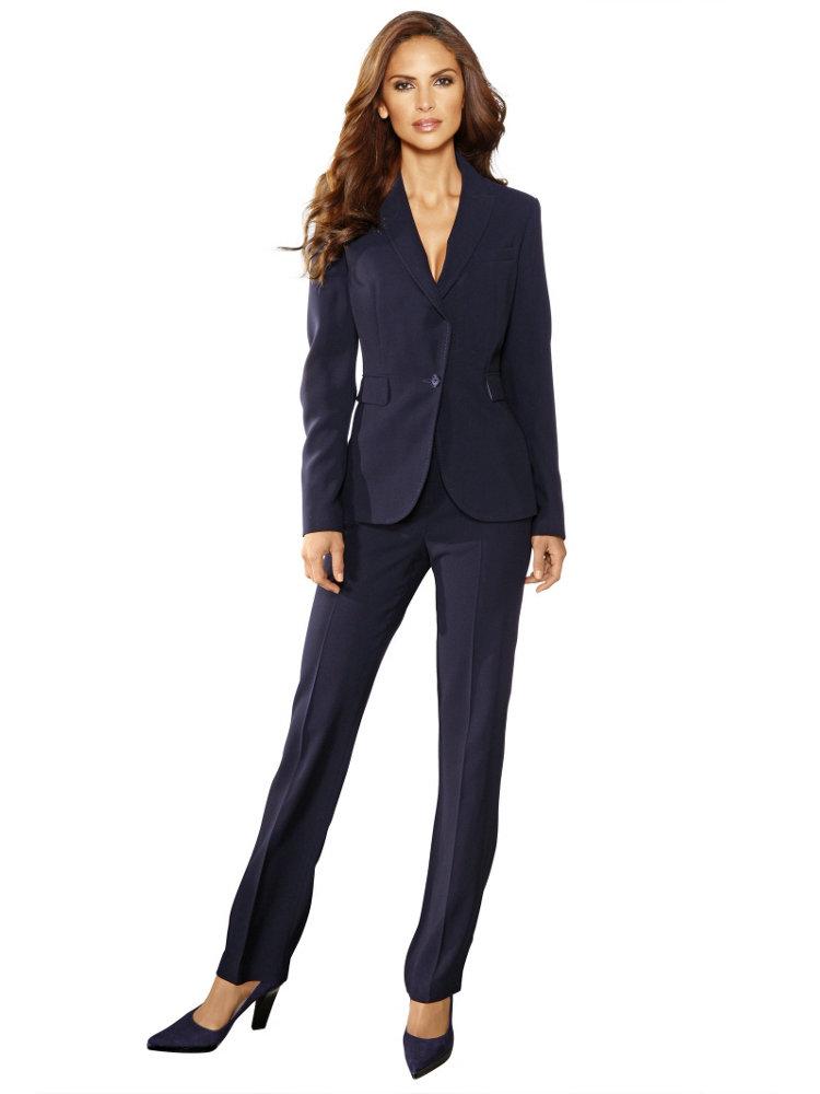 costume pour femme veste tailleur et pantalon taaora blog mode car interior design. Black Bedroom Furniture Sets. Home Design Ideas
