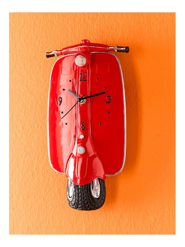 Top 10 des objets d co design originaux - Pendule rouge design ...