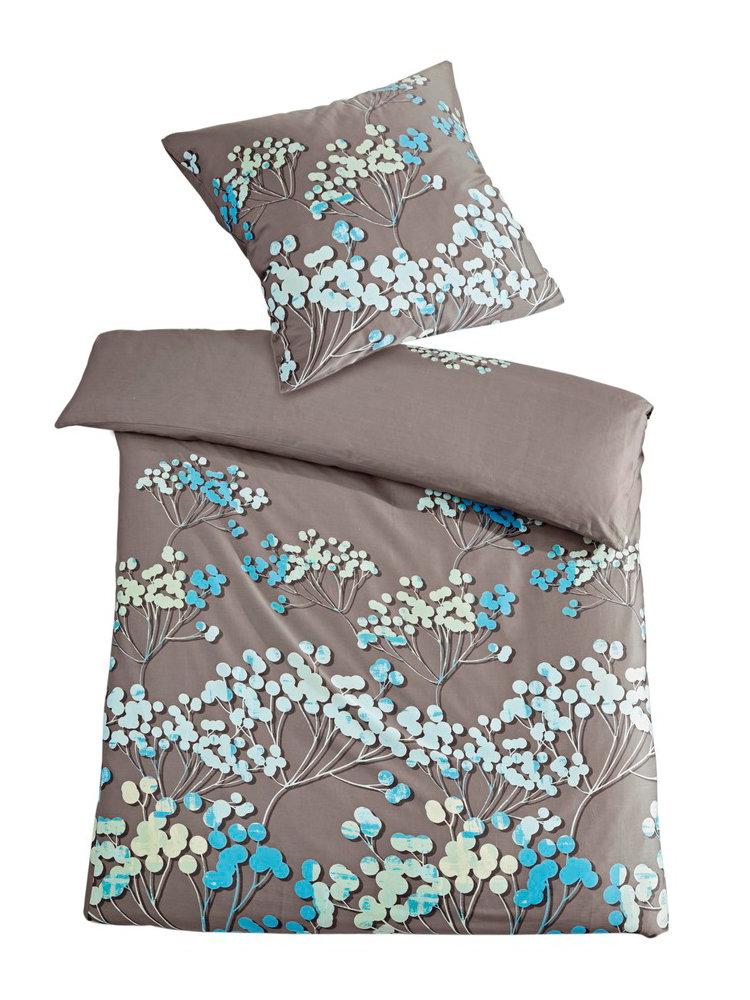 linge de lit fleurs housses de coussins assorties helline. Black Bedroom Furniture Sets. Home Design Ideas