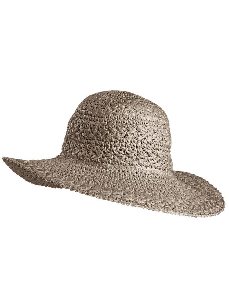 chapeau de paille femme forme capeline noir helline. Black Bedroom Furniture Sets. Home Design Ideas