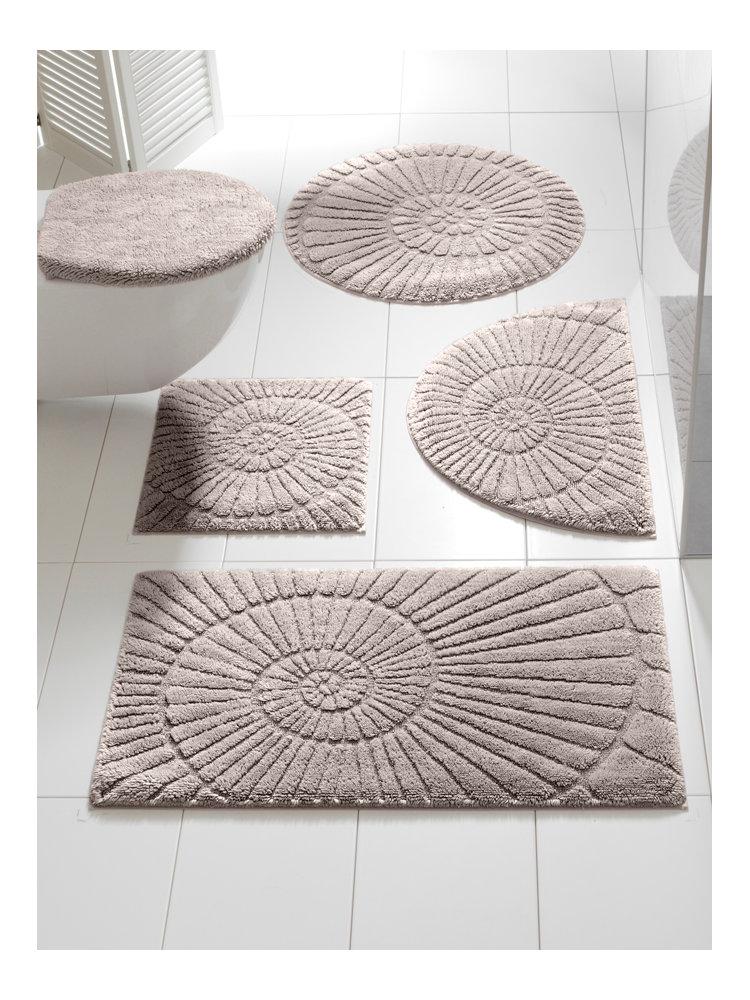 tapis de bain antid rapant imprim coquillage helline. Black Bedroom Furniture Sets. Home Design Ideas