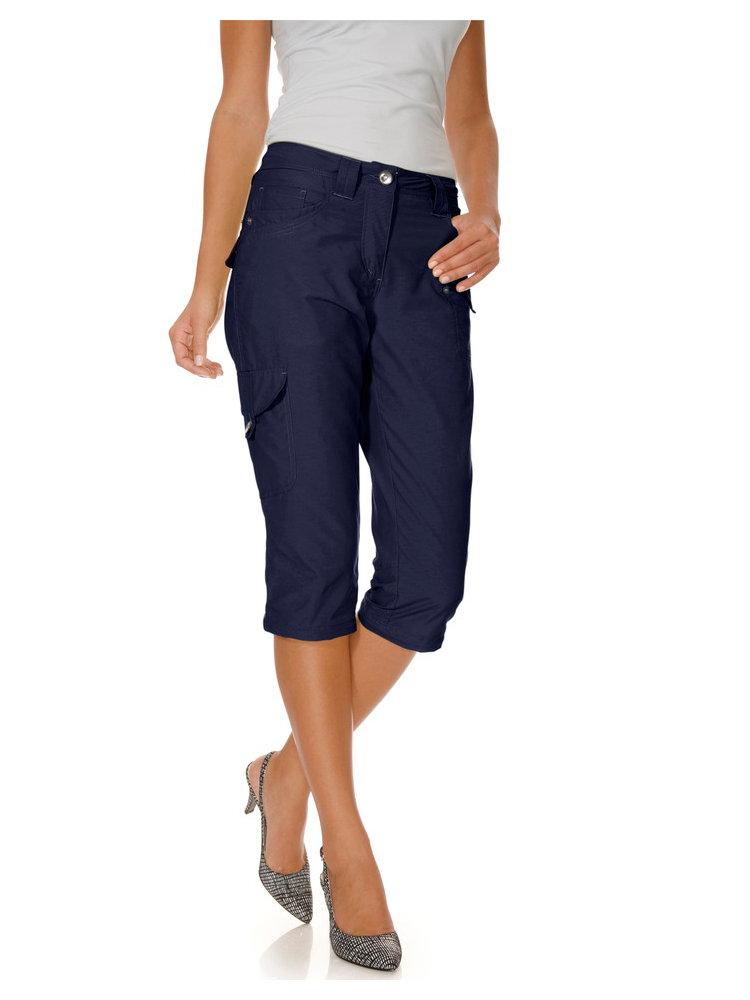 pantalon pantacourt femme cargo poches aux jambes helline. Black Bedroom Furniture Sets. Home Design Ideas