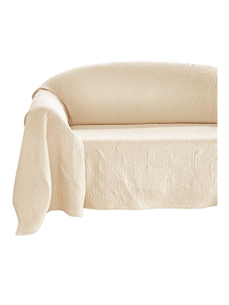 Jet de fauteuil helline for Jete de canape blanc