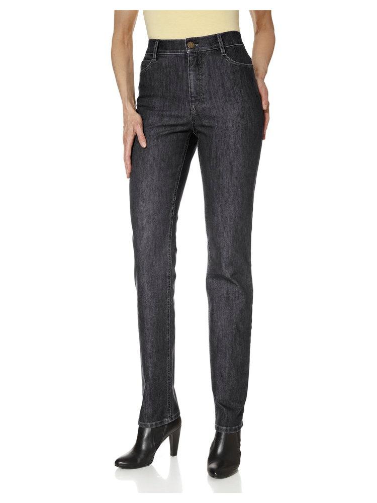 Jean brut taille haute femme coupe droite flatteuse - Jeans femme taille haute coupe droite ...