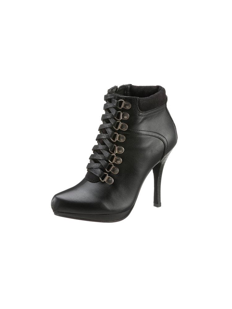 bottines talon haut laura scott style chaussures de randonn e helline. Black Bedroom Furniture Sets. Home Design Ideas
