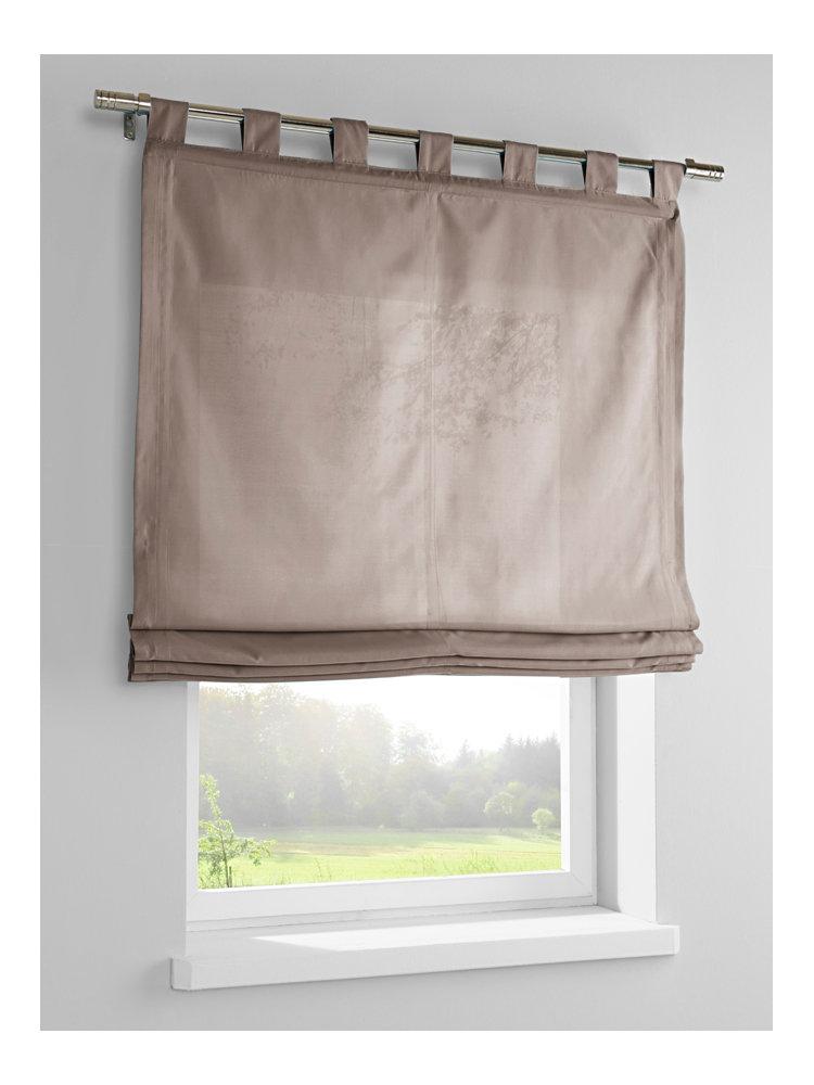 store opaque coloris uni avec pattes de suspension helline. Black Bedroom Furniture Sets. Home Design Ideas