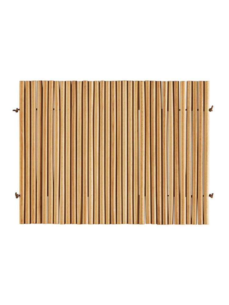 Caillebotis de qualité en bois de hêtre moderne  helline