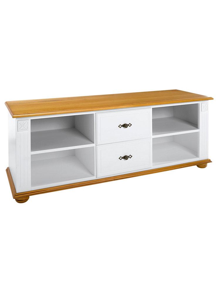 Meuble t l vision l gant en bois casiers et tiroirs for Meuble bois tiroirs casiers