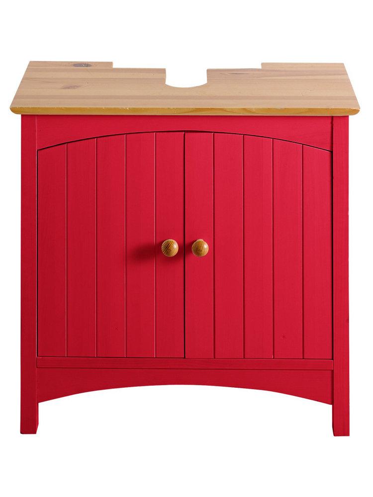 meuble sous vasque en bois color helline. Black Bedroom Furniture Sets. Home Design Ideas