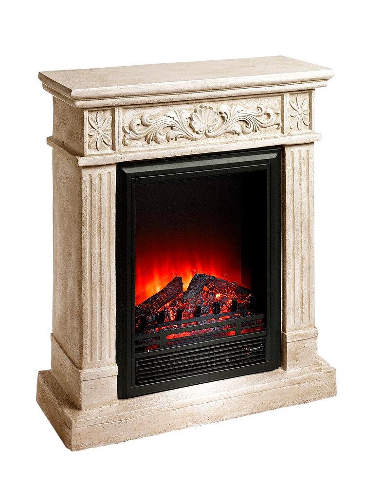 chemin e lectrique avec manteau sculpt helline. Black Bedroom Furniture Sets. Home Design Ideas