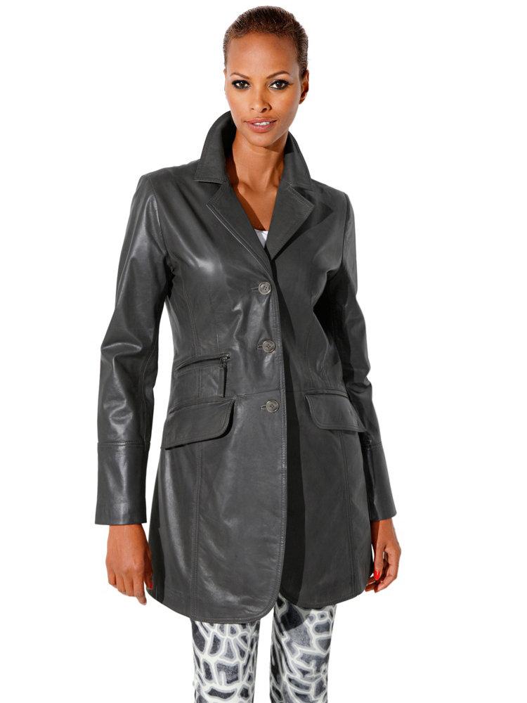 vetements cuir veste cuir cintree femme