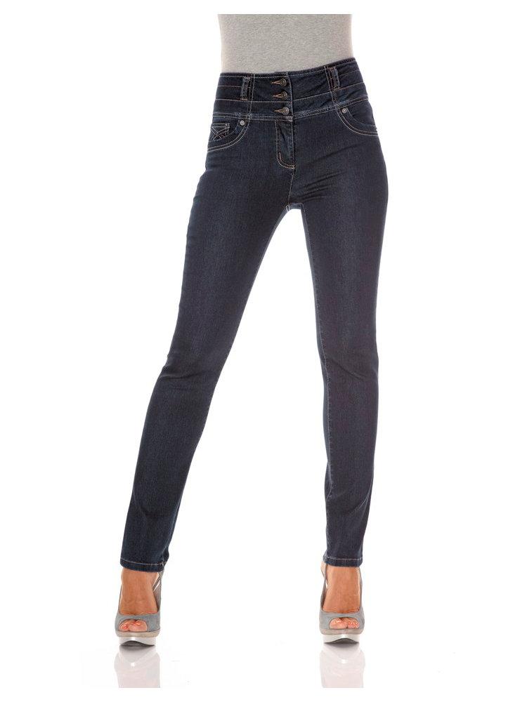 jean gainant taille haute coupe slim ceinture large. Black Bedroom Furniture Sets. Home Design Ideas