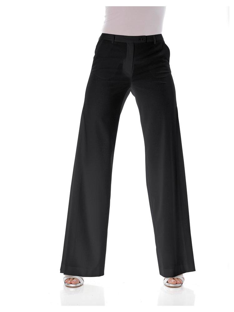 Pantalon Tailleur Femme Taille Haute Coupe Droite