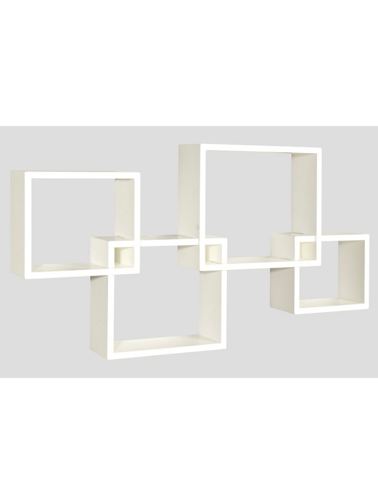 Etag re murale lot de 4 helline for Deco etagere murale salon