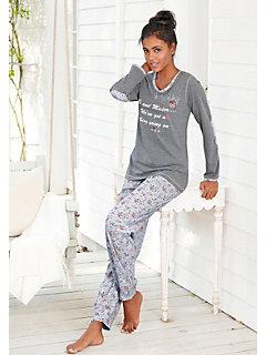 Pyjamas femme pantalons et shorts helline - Suivi commande helline ...