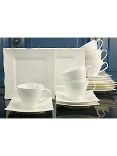 Service à café en porcelaine, »EVA« (18 pièces)