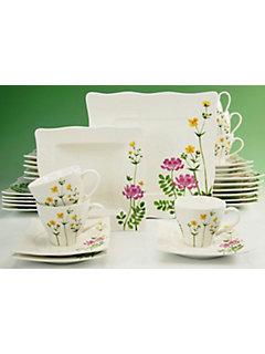 Service complet en porcelaine, »Eva Wiesenblume« (30 pièces)