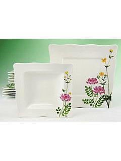 Service de table CreaTable en porcelaine »Eva fleurs des champs« (12 pièces)