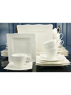 Service complet en porcelaine, »EVA« (30 pièces)