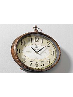 Pendules et horloges murales originales helline for Horloge murale style industriel