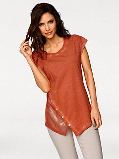 T-shirt à encolure arrondie