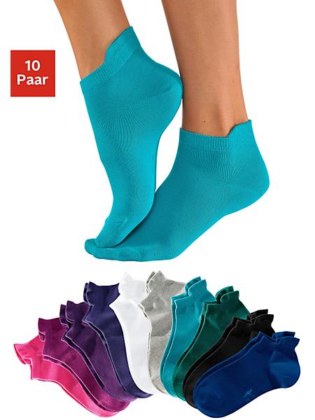 KANGAROOS® - Socquettes KangaROOS (10 paires) avec bord haut
